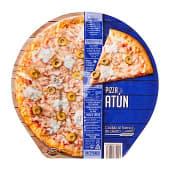 Pizza congelada de atún