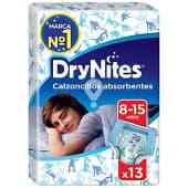Calzoncillos absorventes niño 8-15 años