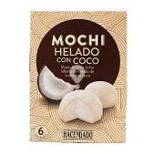 Helado mochi con coco