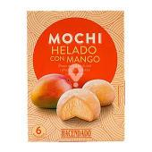 Helado mochi con mango