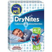 Calzoncillos absorventes niño 4-7 años