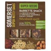 Somerset, Super Nutty Bars Super Seeds barrette conf. 3x35 g