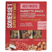 Somerset, Super Nutty Bars Red Fruits barrette conf. 3x35 g