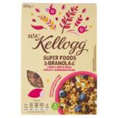 Kellogg's, W.K Kellogg, Super Foods Granola farro e mirtilli rossi 300 g
