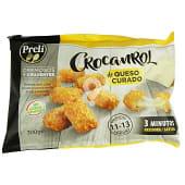 Crocanrol congelado (rebozado crujiente de queso)