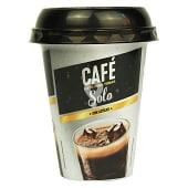 Café solo azucarado líquido