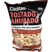 Crocktail de frutos secos tostado y ahumado (cacahuetes, almendras y anacardos)