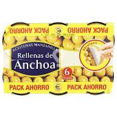 Aceituna rellena anchoa