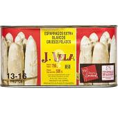 Espárragos blancos extra D.O. 13-16 piezas lata 500 g