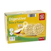 Galleta digestive soja fruta caja 800 grs
