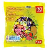 Caramelos masticables 5 sabores