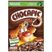 Cereales de desayuno con chocolate