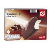 Helado bombón chocolate negro