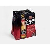 Cerveza Estrella Galicia Pack (6 x 25cl)