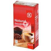 Café molido natural descafeinado