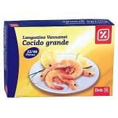 Langostino cocido grande 32/48 caja 800 gr