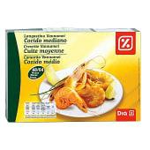 Langostino cocido mediano 48/64 caja 800 gr