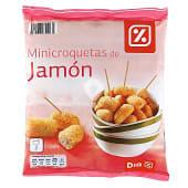 Mini croquetas de jamón bolsa 500 gr