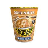 Fideos orientales yatekomo pollo vaso 66 gr