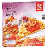 Pizza masa fina speciale caja 350 gr