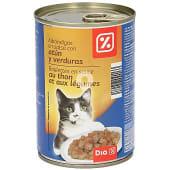 Alimento para gatos albondigas atun verdura
