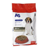 Alimento para perros completo con buey