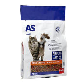 Alimento para gatos multicomponente carne