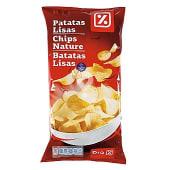Patatas fritas lisas