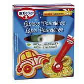 Lápices pasteleros de colores