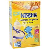 Papilla de cereales sin gluten, desde 4 meses