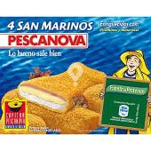 San Marinos con jamón y queso