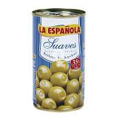 Aceitunas suaves rellenas de anchoa