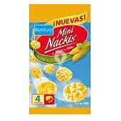 Mini Nackis tortitas de maíz