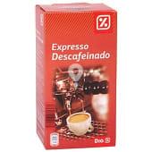 Café molido descafeinado expresso