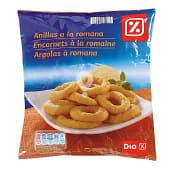 Anillas de calamar a la romana bolsa 500 gr