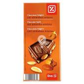 Chocolate negro 55% con almendras
