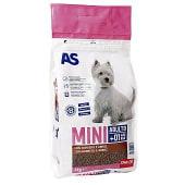 Alimento para perros de razas pequeñas con carne y arroz