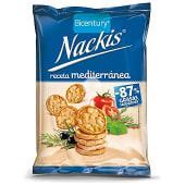 Tortitas de maíz receta mediterránea Nackis