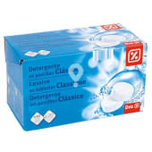 Detergente máquina clásico caja 40 pastillas