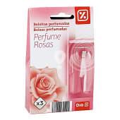 Bolsita perfumada aroma rosas caja 3 uds