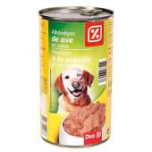 Alimento para perros albondigas ave