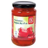 Pimientos rojos asados frasco 220 gr
