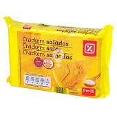 Galletas crackers saladas paquete