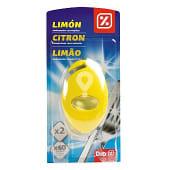 Ambientador para máquina lavavajillas aroma limón