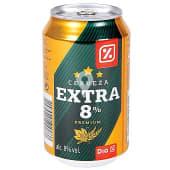 Cerveza rubia nacional extra lata 33 cl