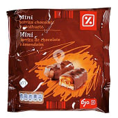 Mini barrita chocolate cacahuete bolsa 250 gr