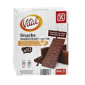 Snack bañado de chocolate con leche caja 200 gr
