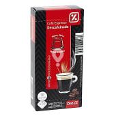 Café expresso descafeinado 10 cápsulas caja 53 gr