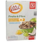Cereales fruta y fibra