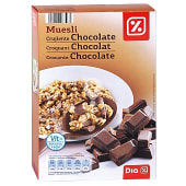 Cereales muesli con chocolate paquete 500 gr